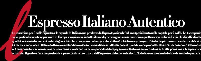 Espresso Italian Autentico